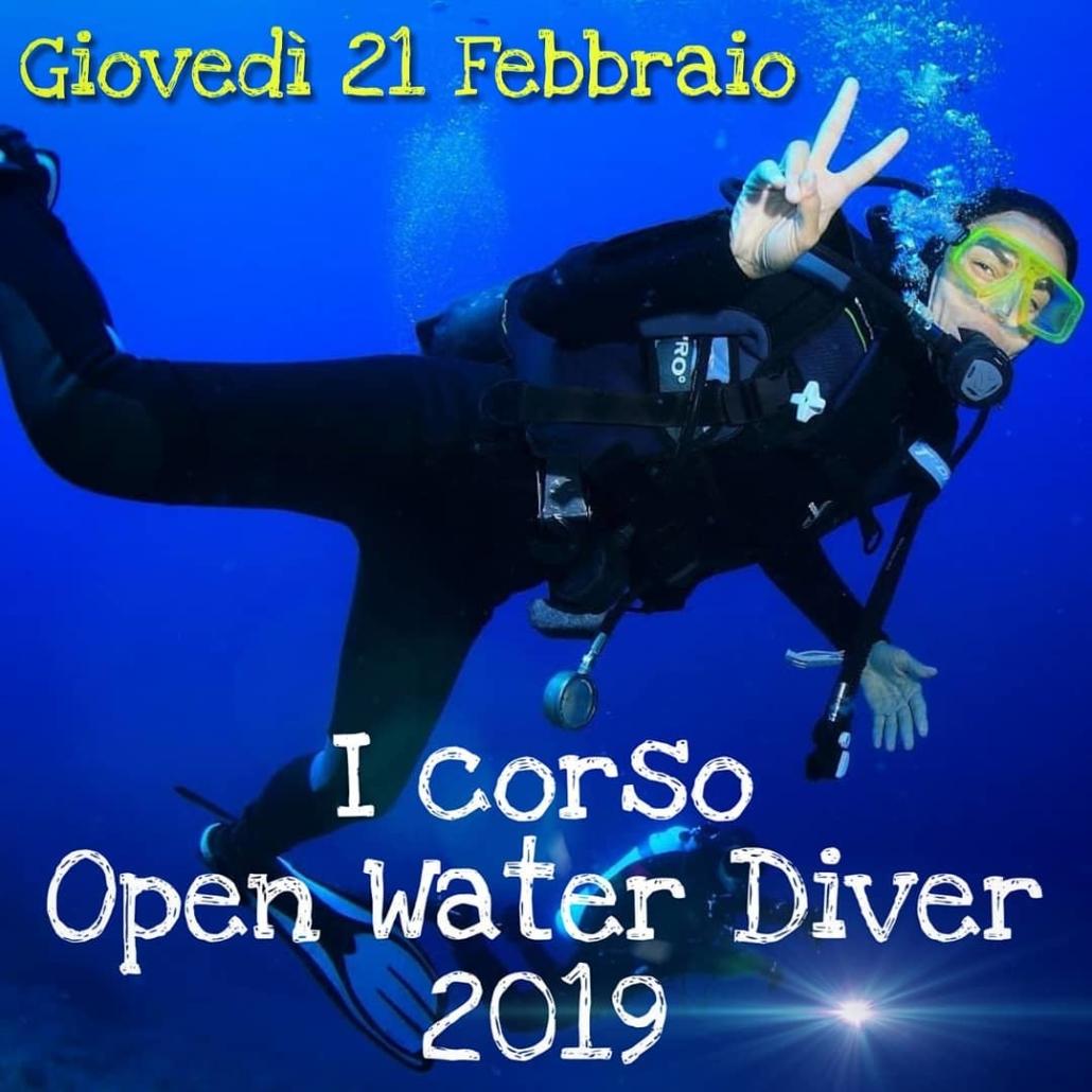 corso open water diver 2019