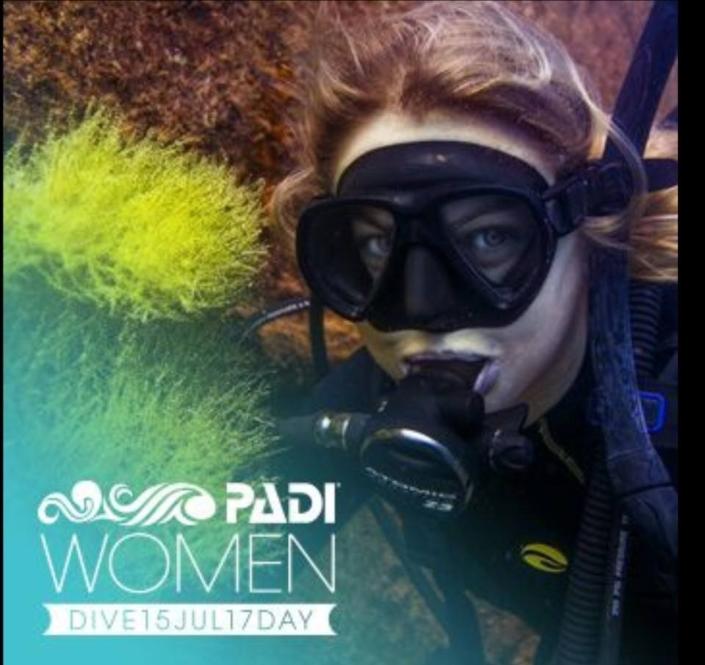 Padi Women's Day Dive 2017