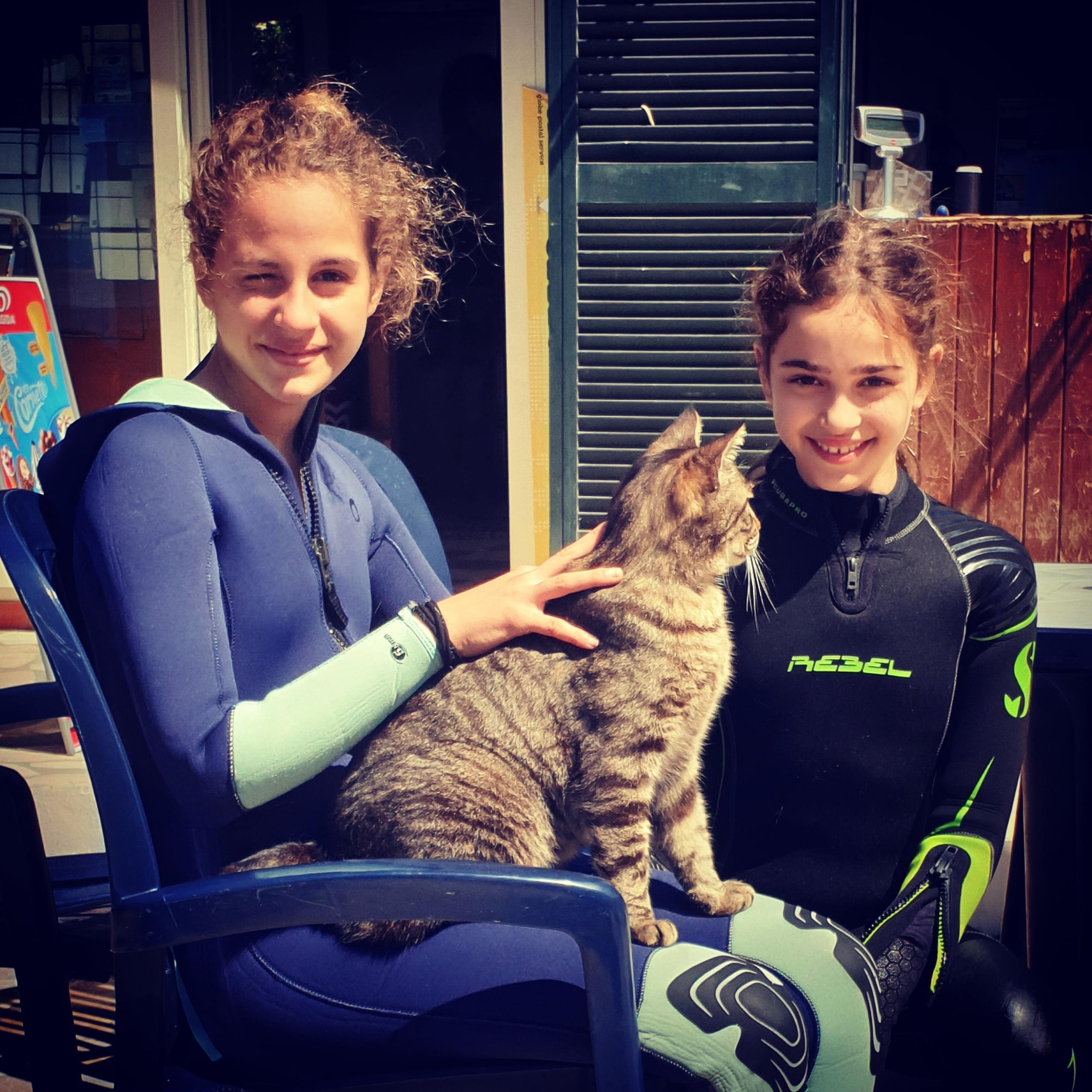 Alexander Snavy the cat e le piccole sub