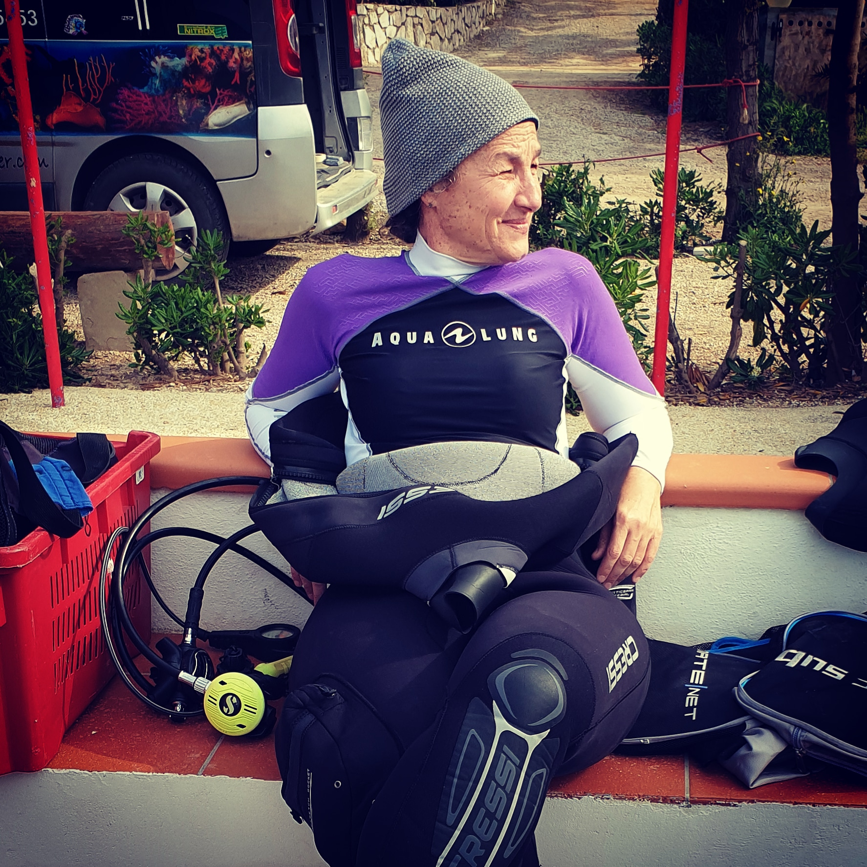 Relax dopo immersione profonda...