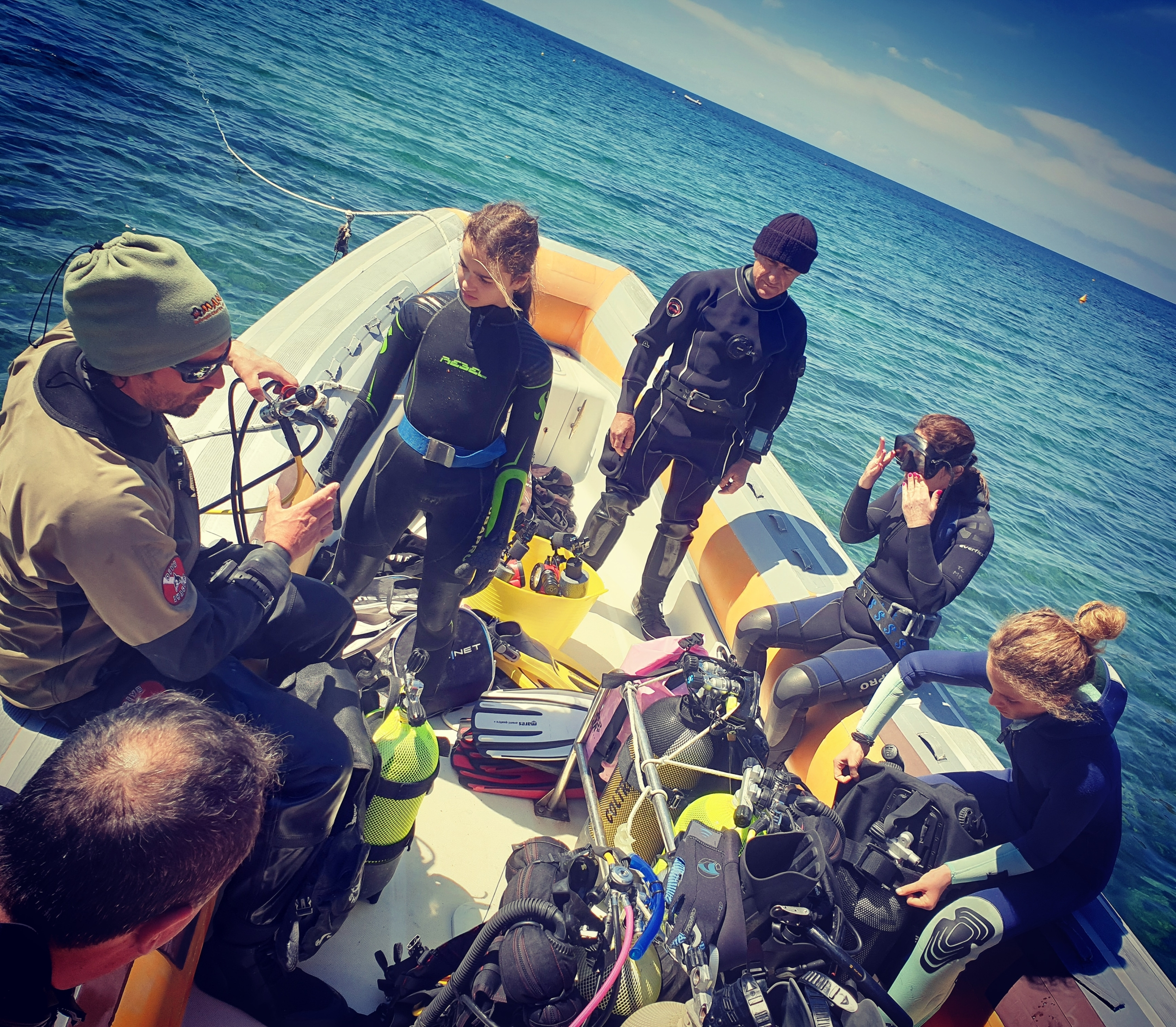 Briefing pre-immersione