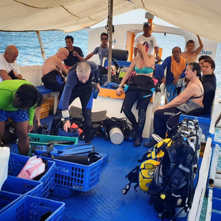 Isola di Malapasqua, Olgiata Diving Febbraio 2020, People 42