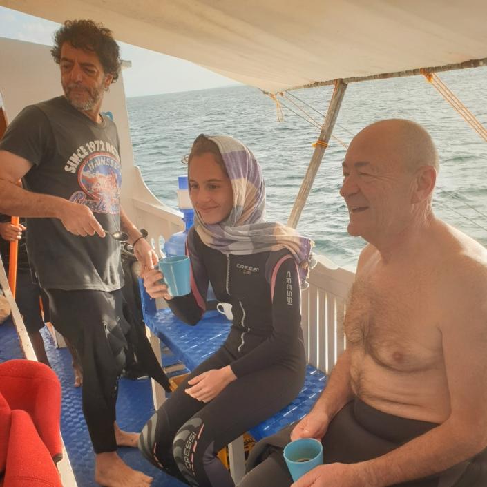 Isola di Malapasqua, Olgiata Diving Febbraio 2020, People 6