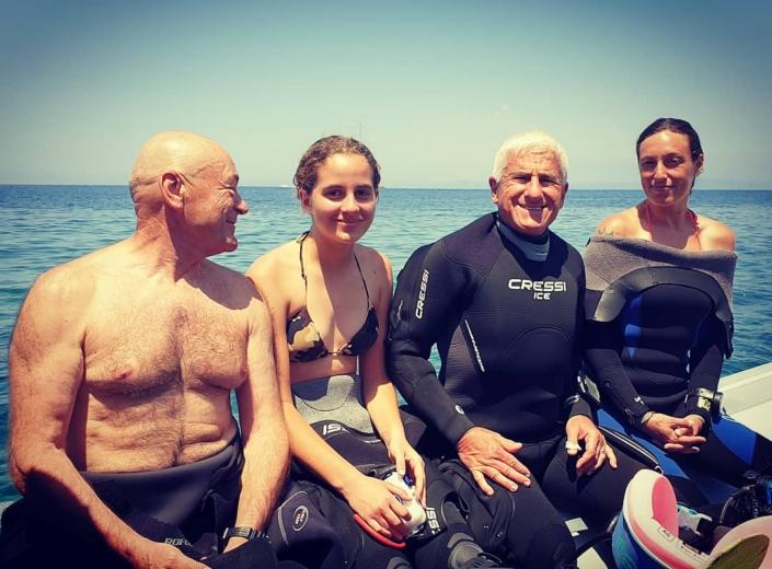 Punta Campanella con Olgiata Diving 2020