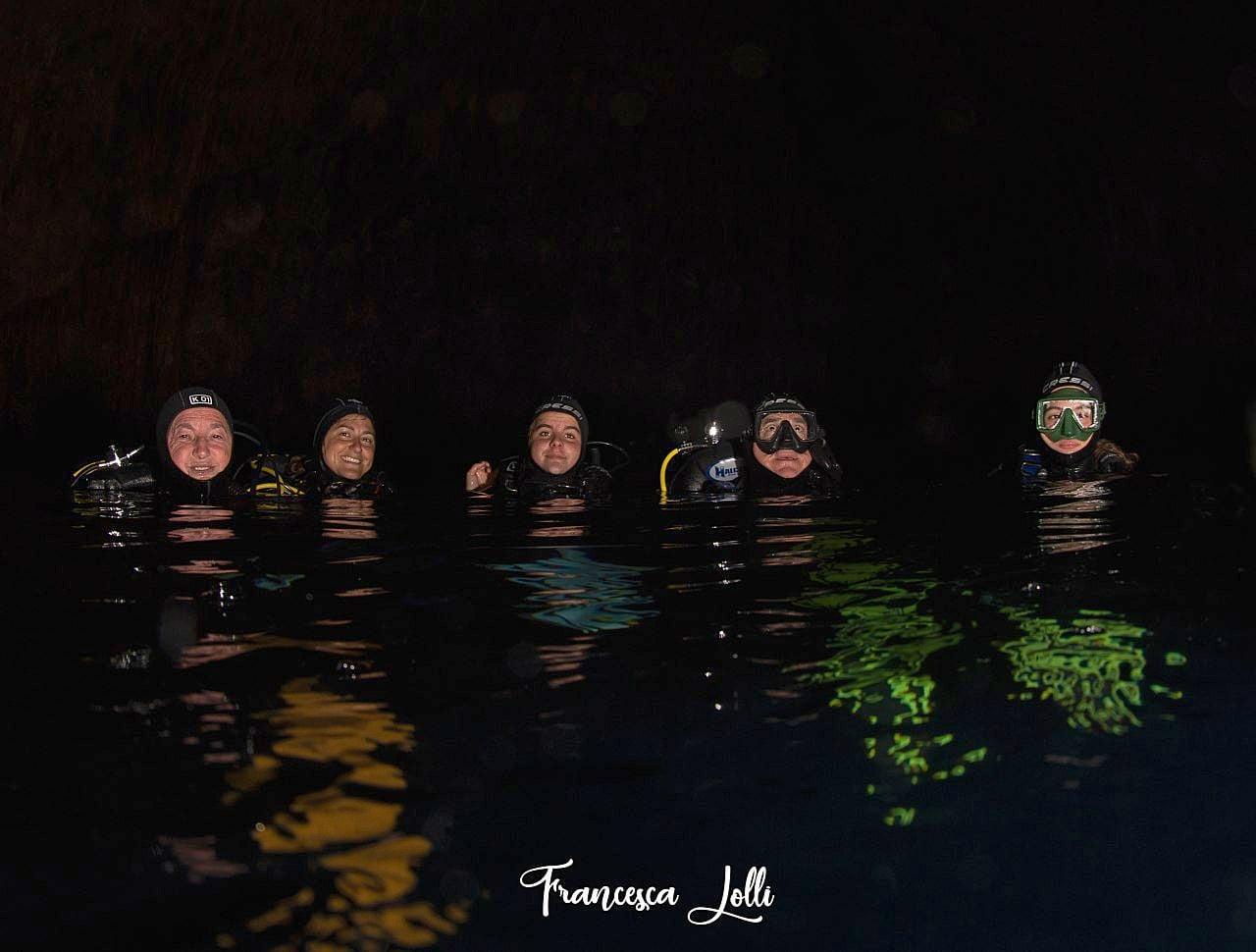 Grotta dell'Isca con Olgiata Diving