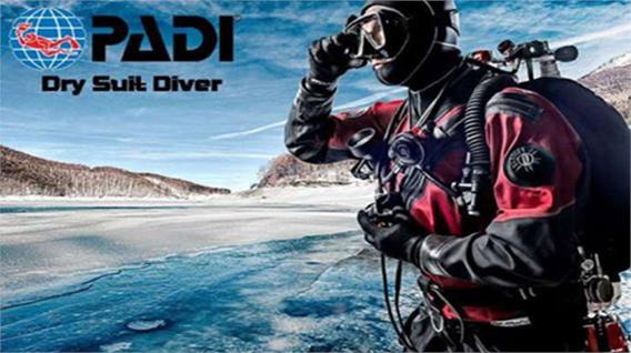 Dry Suite Diver