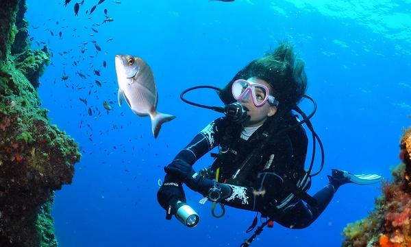 Master Padi Scuba Diver